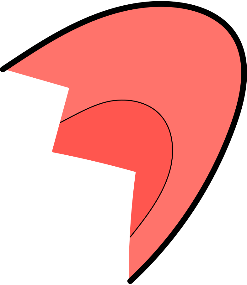 fatal error  broken ear Clipart illustration in PNG, SVG