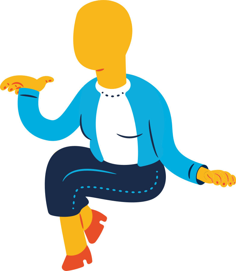 old woman sitting Clipart illustration in PNG, SVG