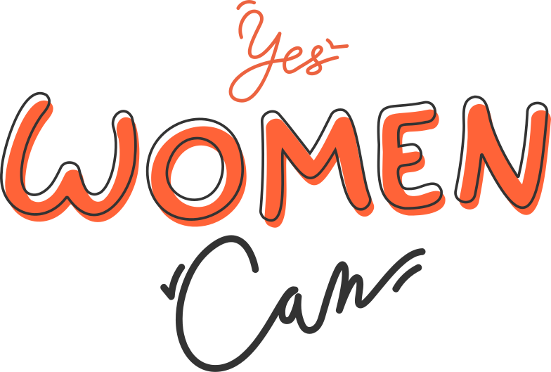 yes women can Clipart illustration in PNG, SVG