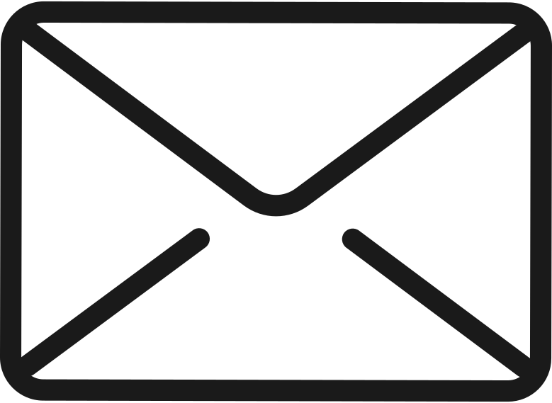 woman-working-on-computer mail-icon Clipart illustration in PNG, SVG