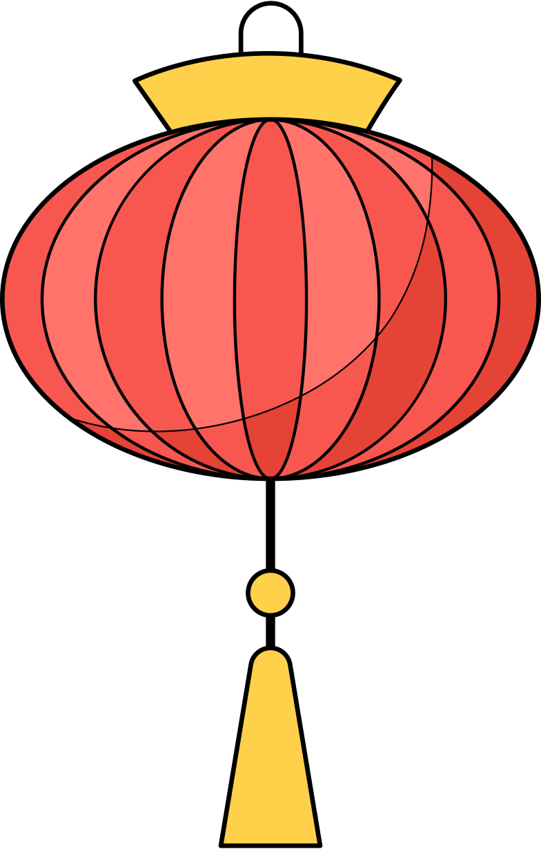chinese lantern Clipart illustration in PNG, SVG