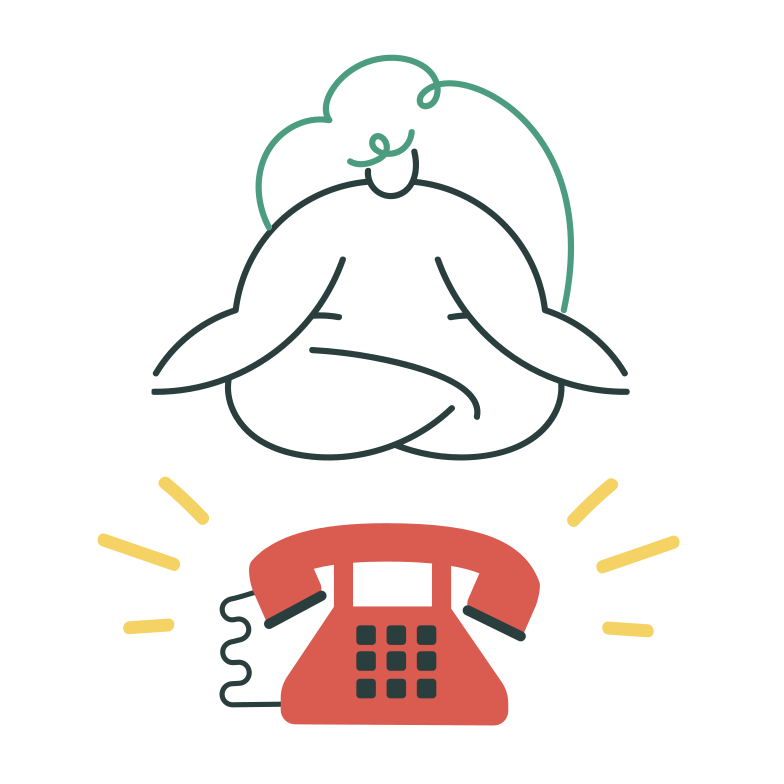 Phone call Clipart illustration in PNG, SVG