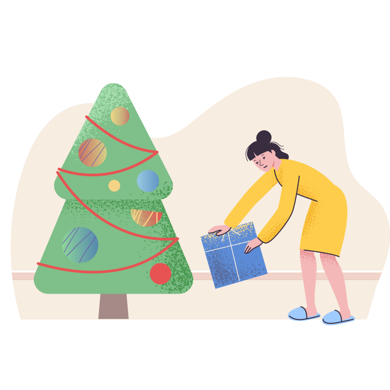 style Christmas gift Vector images in PNG and SVG | Icons8 Illustrations