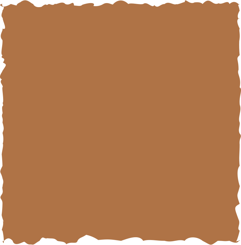 square brown Clipart illustration in PNG, SVG