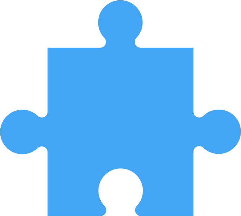 style puzzle piese blue Vector images in PNG and SVG | Icons8 Illustrations
