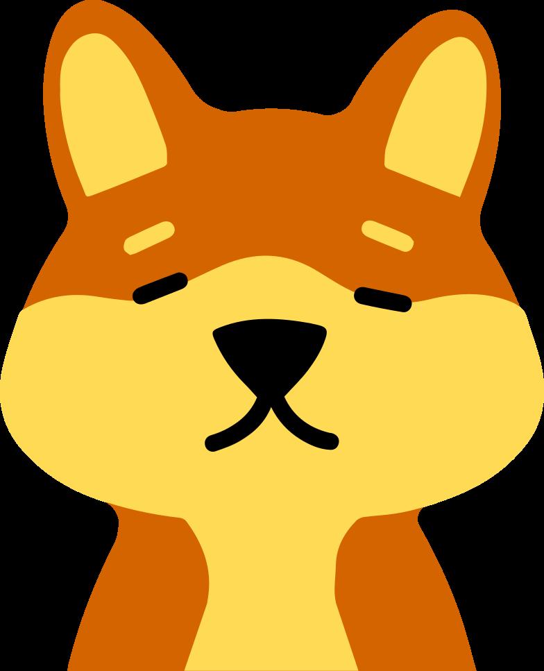 dog head Clipart illustration in PNG, SVG