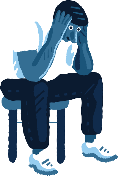 style despaired man images in PNG and SVG | Icons8 Illustrations