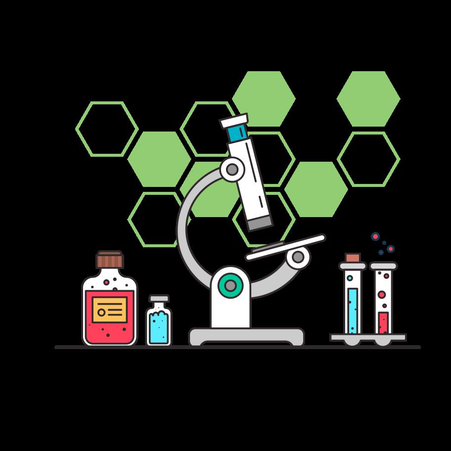 Medical lab Clipart illustration in PNG, SVG
