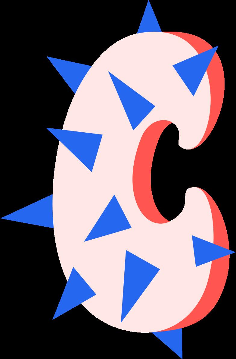 c Clipart illustration in PNG, SVG