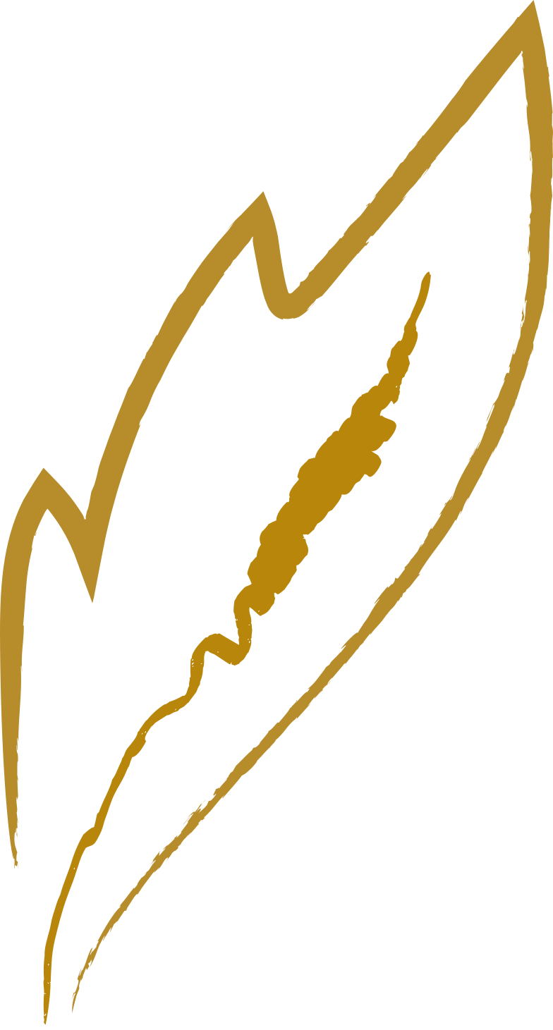 gold leaf Clipart illustration in PNG, SVG