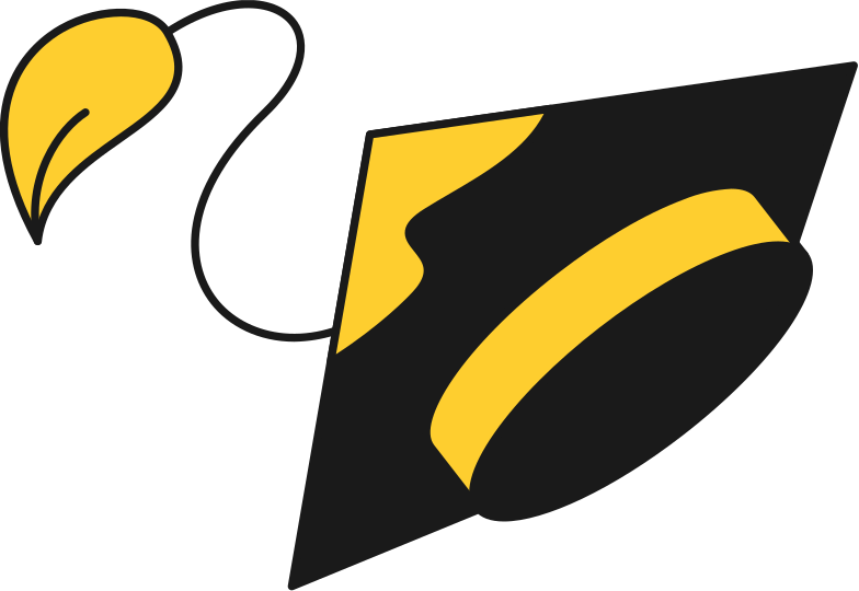Style  chapeau de graduation Images vectorielles en PNG et SVG | Icons8 Illustrations