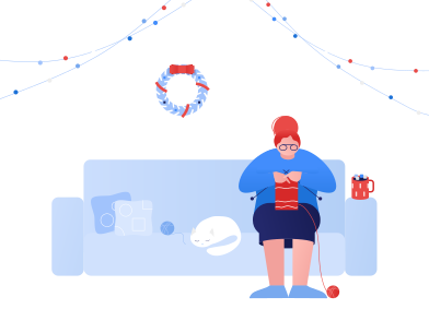 style Winter holidays at home images in PNG and SVG | Icons8 Illustrations