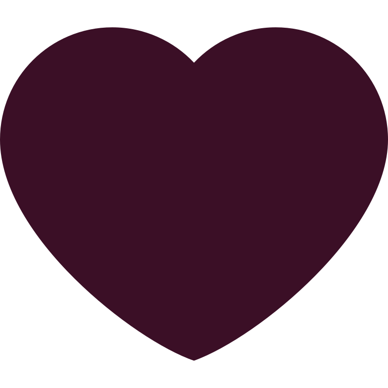 heart brown Clipart illustration in PNG, SVG