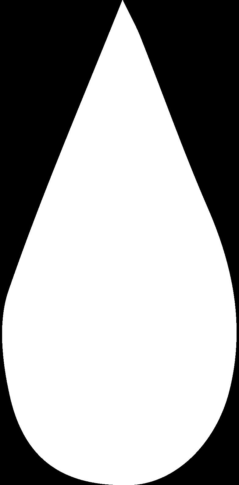 teardrop Clipart illustration in PNG, SVG