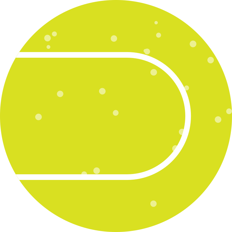 green tennis ball Clipart illustration in PNG, SVG