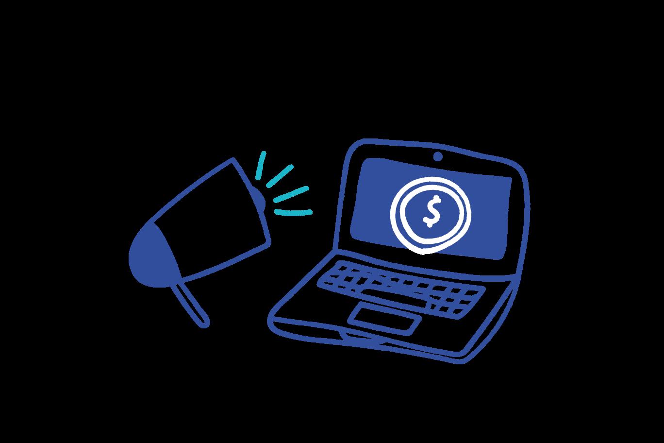Online statistic Clipart illustration in PNG, SVG