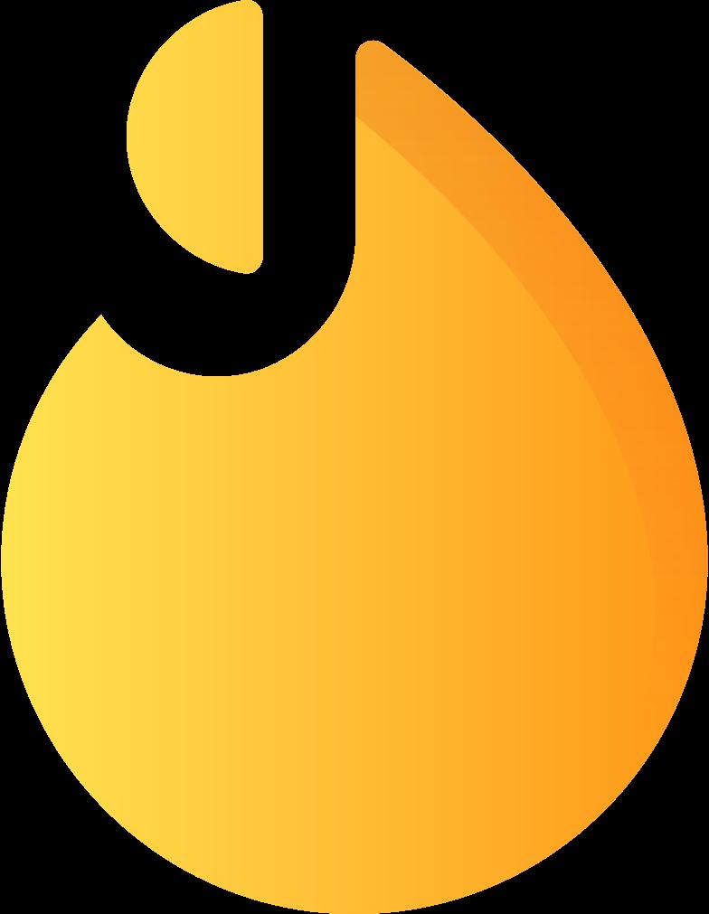 flame Clipart illustration in PNG, SVG