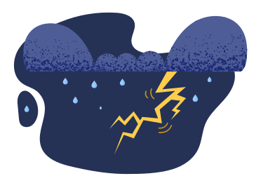 style Thunderstorm images in PNG and SVG | Icons8 Illustrations