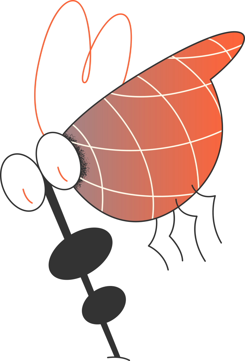 mosquito Clipart illustration in PNG, SVG