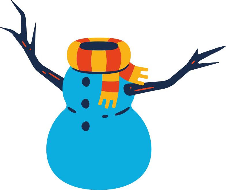 snowman body Clipart illustration in PNG, SVG