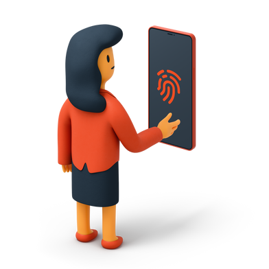 style Fingerprint scanner images in PNG and SVG | Icons8 Illustrations