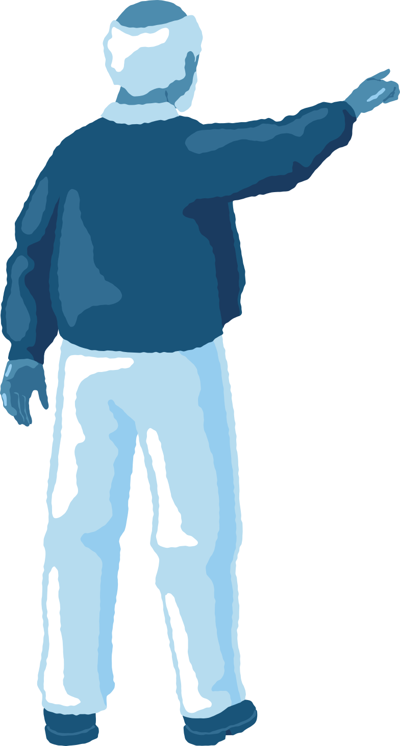 style old man pointing back Vector images in PNG and SVG | Icons8 Illustrations