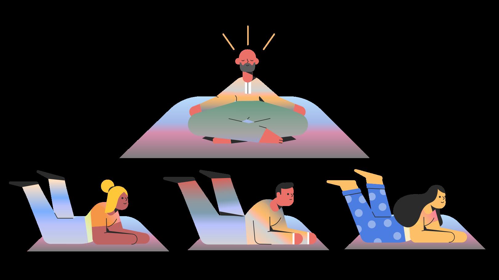 Guru Clipart illustration in PNG, SVG