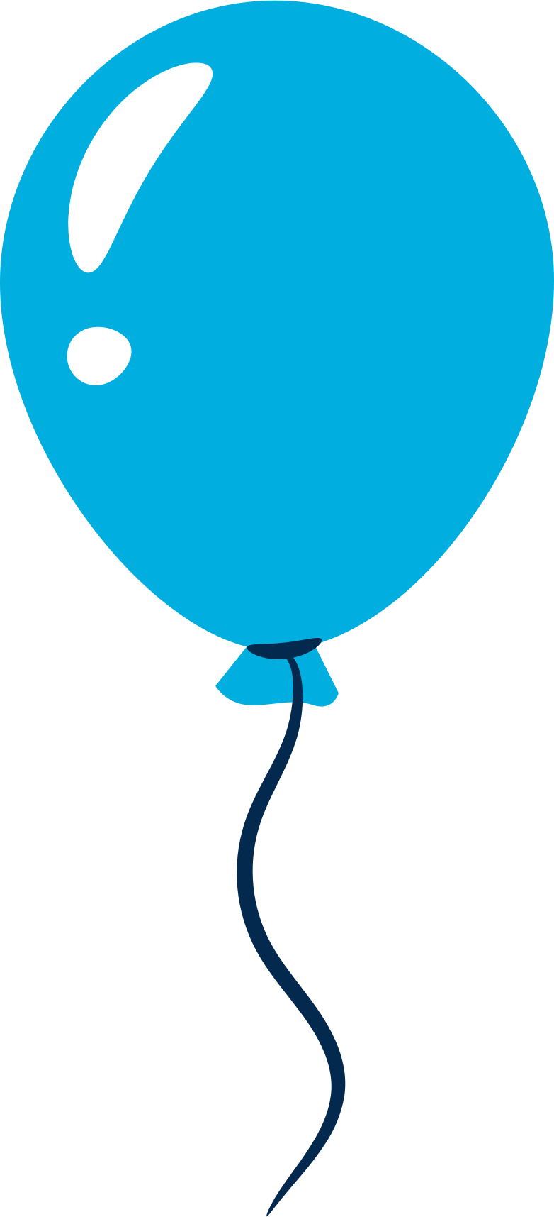 PNGとSVGの  スタイルの 青い風船 ベクターイメージ | Icons8 イラスト