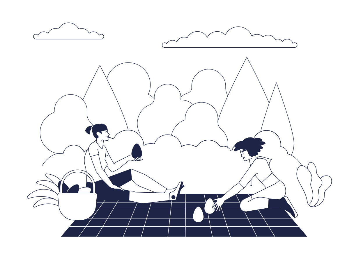 Picnic Clipart illustration in PNG, SVG