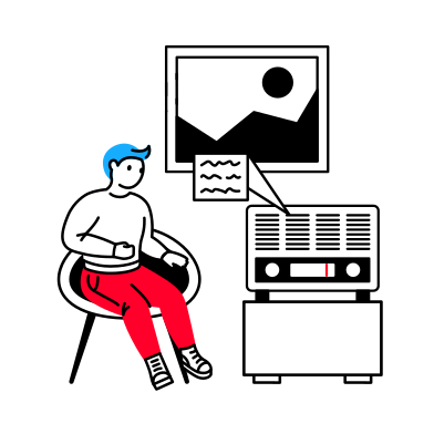 style Mass media images in PNG and SVG | Icons8 Illustrations