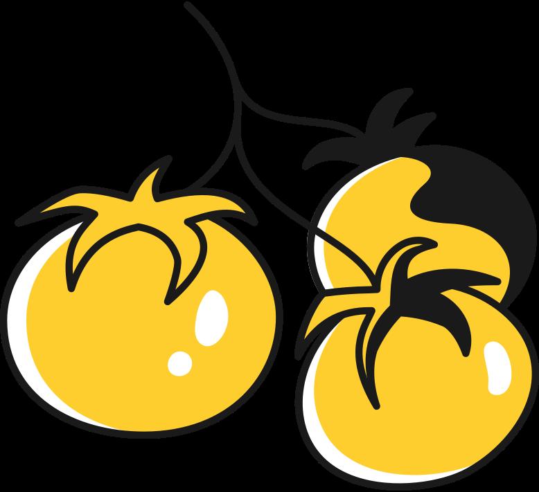 Иллюстрация помидоры на ветке в стиле  в PNG и SVG | Icons8 Иллюстрации