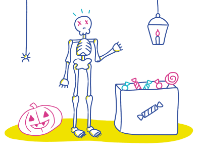 style ハロウィンパーティーへようこそ images in PNG and SVG | Icons8 Illustrations