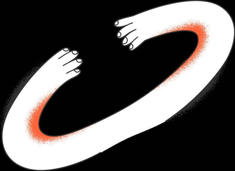 delivery delivery  hands Clipart illustration in PNG, SVG