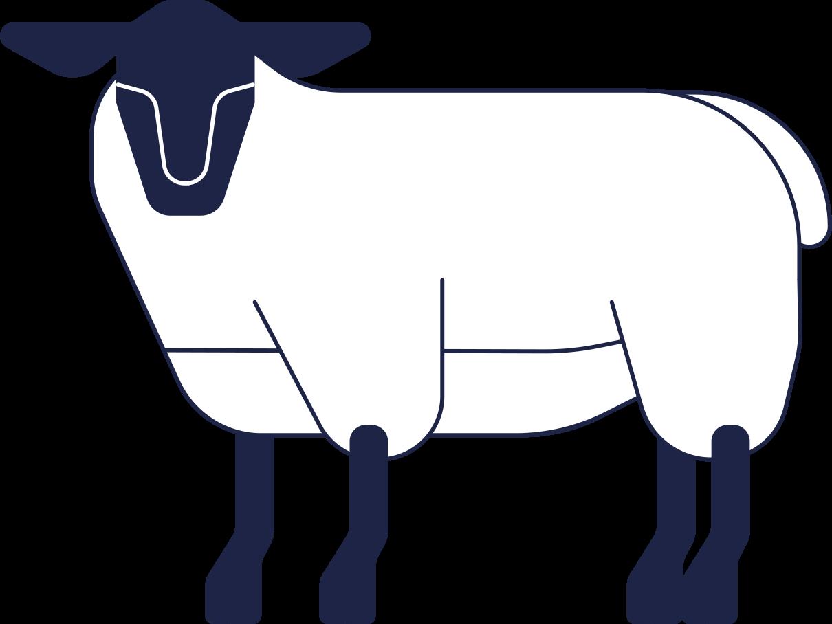 PNGとSVGの  スタイルの 羊 ベクターイメージ   Icons8 イラスト