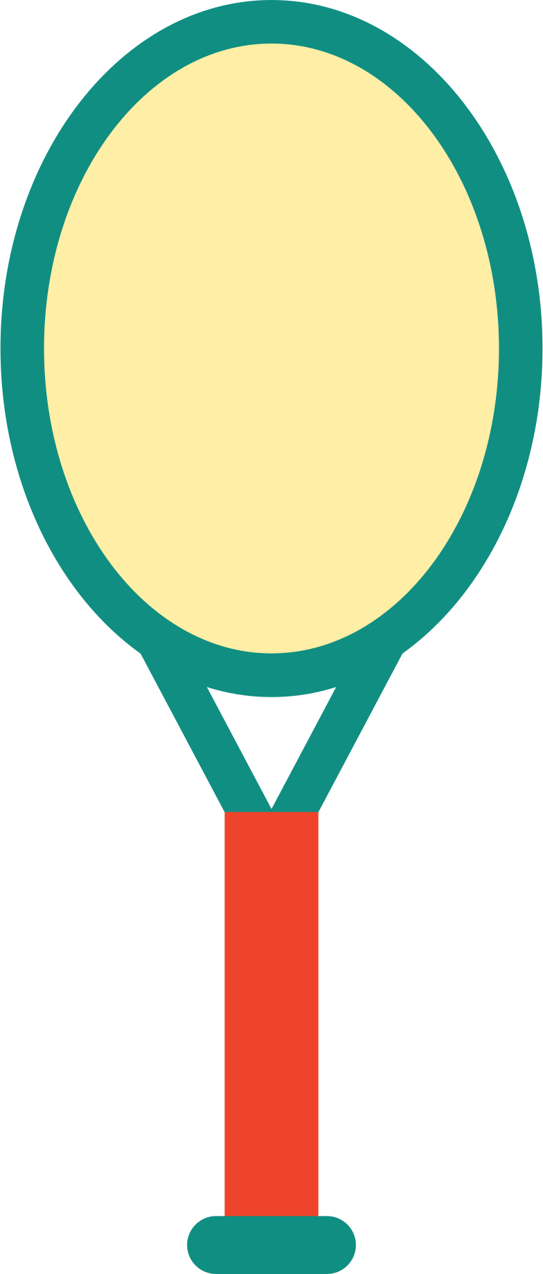 tennis racquet Clipart illustration in PNG, SVG