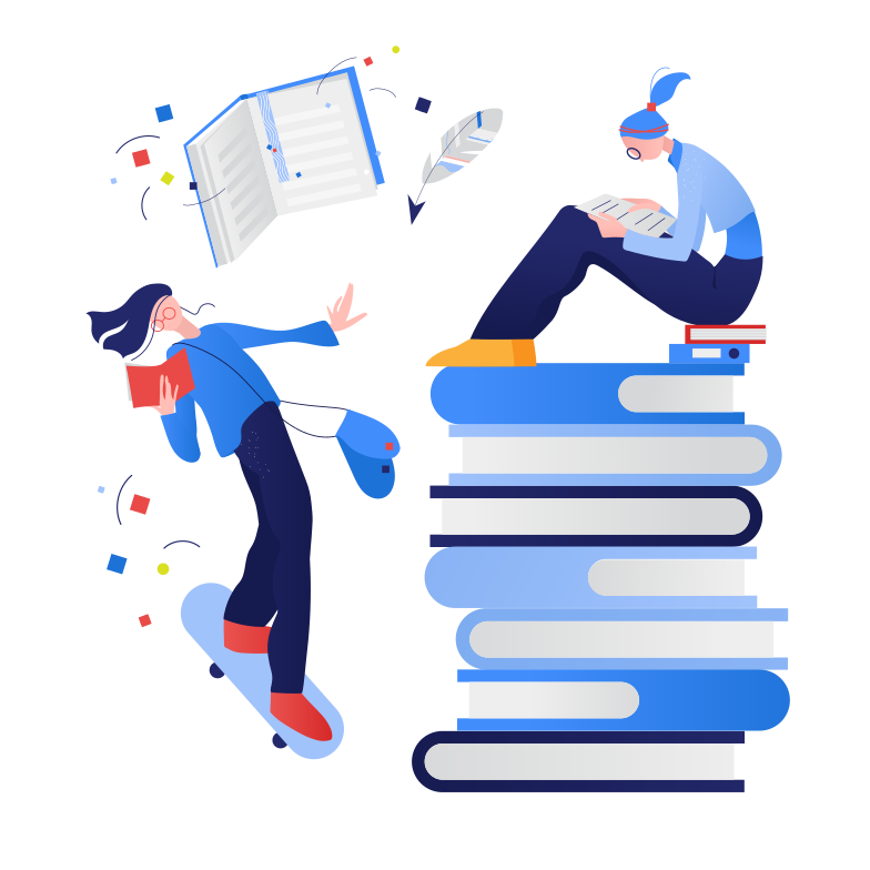 style Reading of books Vector images in PNG and SVG | Icons8 Illustrations
