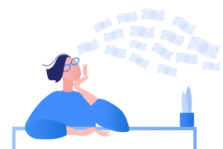 Finance mindset Clipart illustration in PNG, SVG