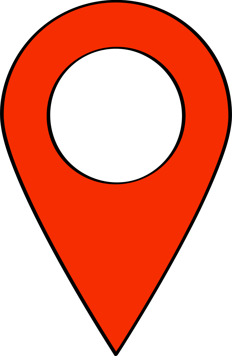 location icon Clipart illustration in PNG, SVG