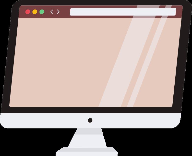 Vektorgrafik im  Stil computer mit browser als PNG und SVG | Icons8 Grafiken