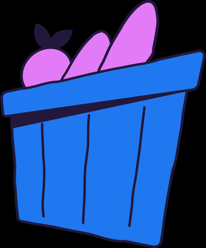 Imágenes vectoriales shopping basket en PNG y SVG estilo  | Ilustraciones Icons8