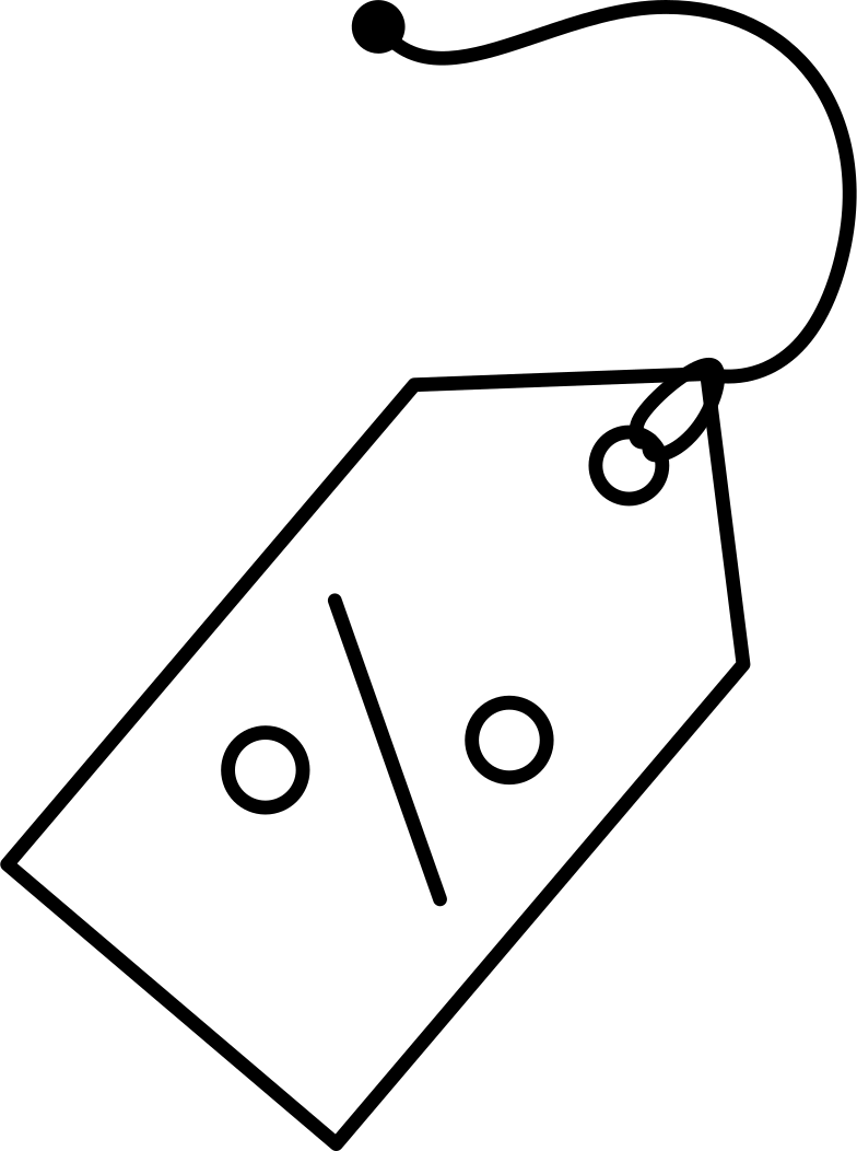 sale tag Clipart illustration in PNG, SVG