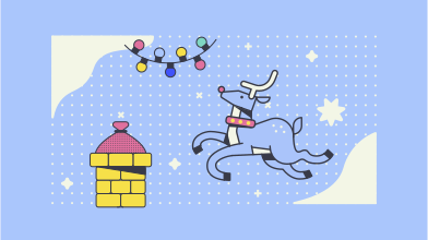 style Christmas Deer images in PNG and SVG | Icons8 Illustrations