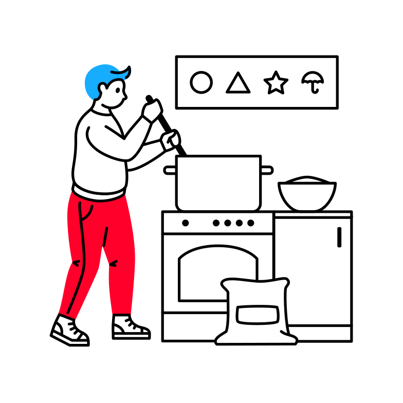 style Cooking Vector images in PNG and SVG | Icons8 Illustrations