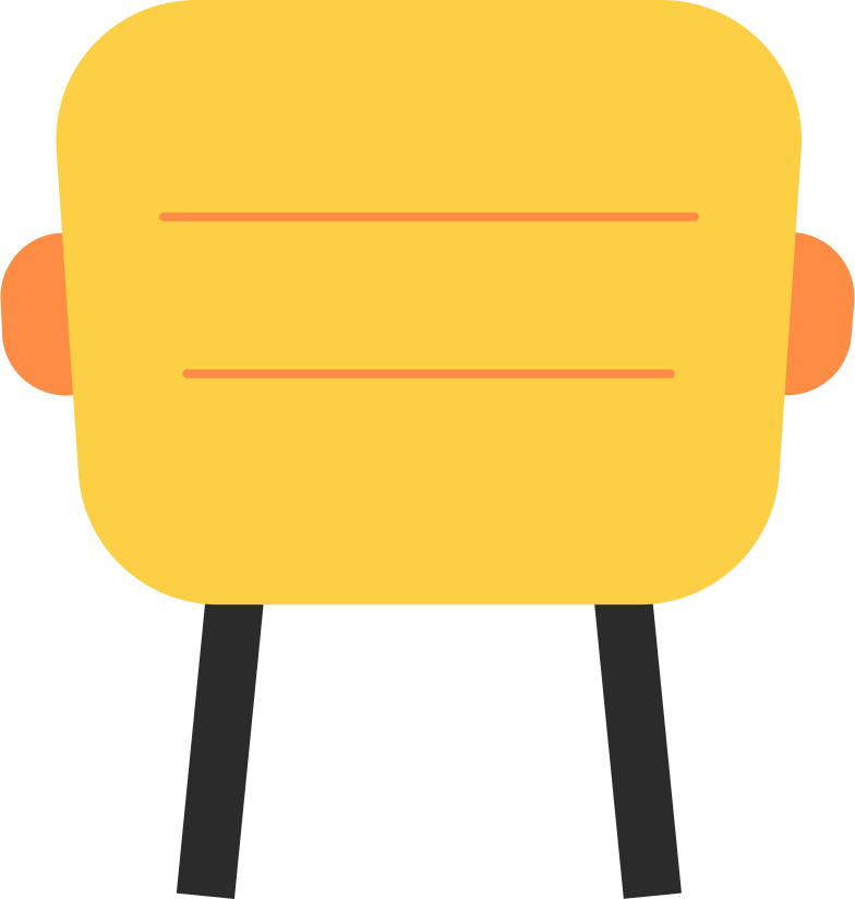 programming  chair Clipart illustration in PNG, SVG