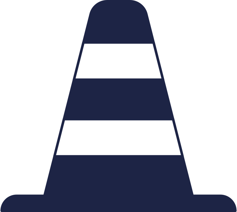 traffic cone Clipart illustration in PNG, SVG