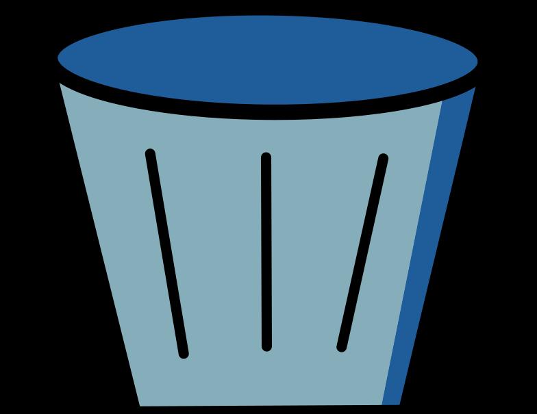 mülleimer Clipart-Grafik als PNG, SVG