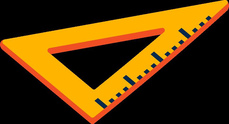 set square Clipart illustration in PNG, SVG