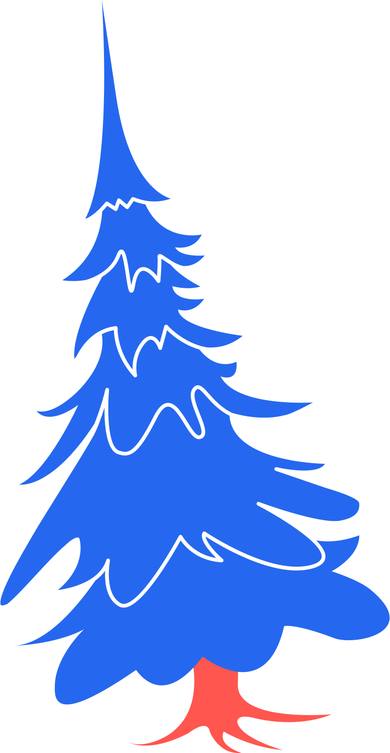 fir-tree- Clipart illustration in PNG, SVG