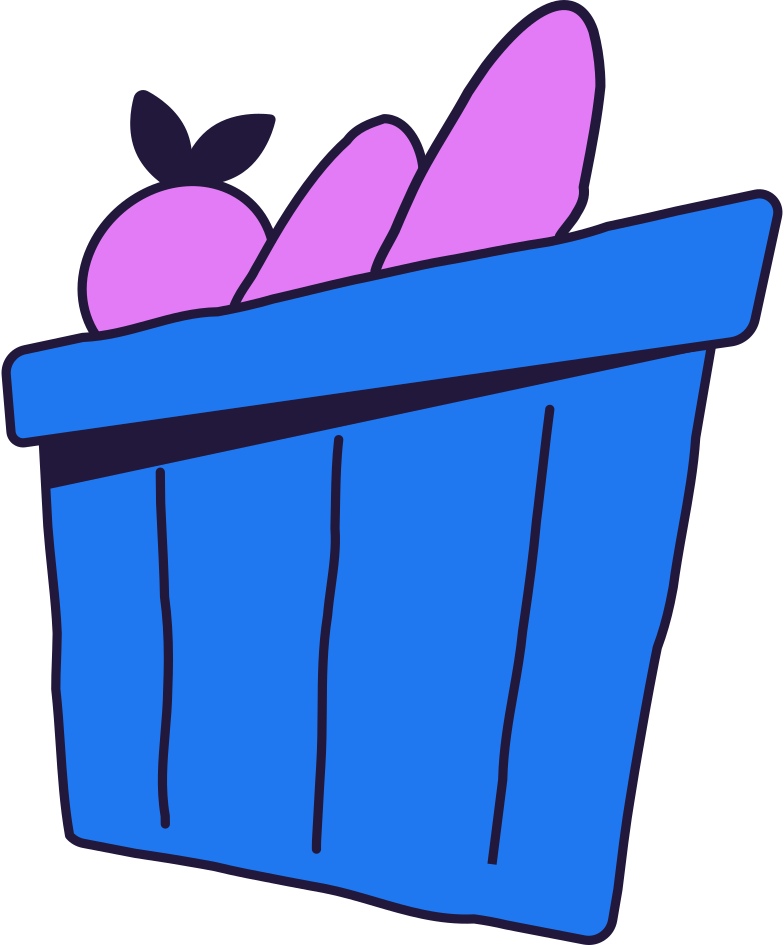 style shopping basket Vector images in PNG and SVG | Icons8 Illustrations