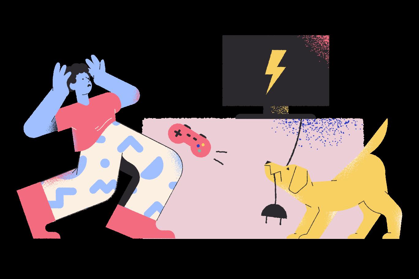 Game over Clipart illustration in PNG, SVG